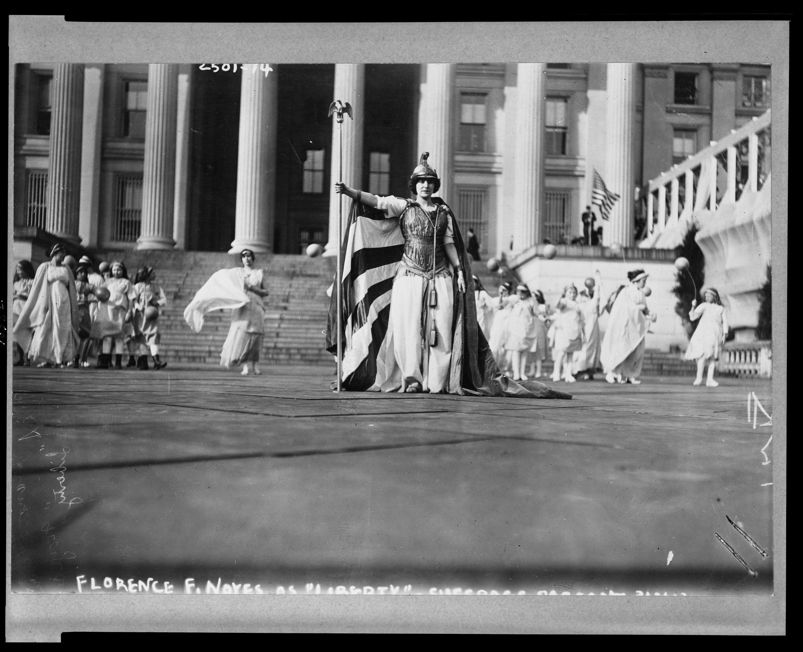 Suffrage Pageant, 1913