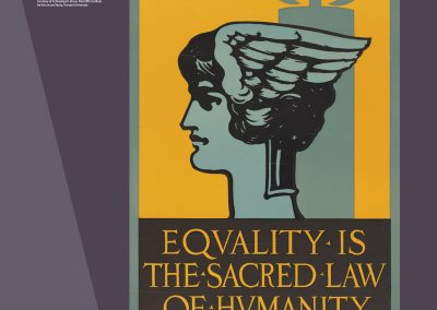Equality is the Sacred Law of Humanity