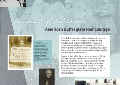 American Suffragists Had Courage